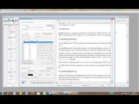 PDFCool Studio - How to Replace Text in PDF Files