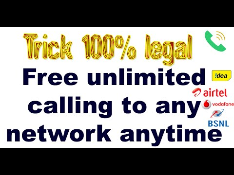 How to get free unlimited calling