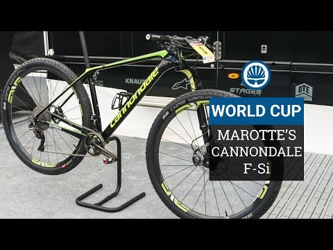 Maxime Marotte's Cannondale F-Si - Lefty Ocho Equipped Lightweight Build