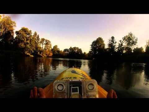 American River Time Lapse Paddle   5 miles round trip  ROYAK GOPRO