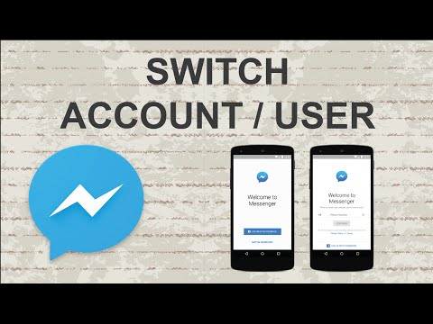 How to switch account on Facebook Messenger | Mobile App