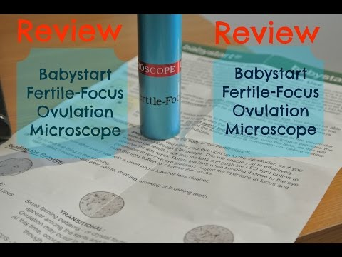 Babystart Fertile-Focus Ovulation Microscope Review - TTC Baby #1 with PCOS