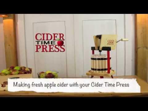 How to Make Apple Cider - Cider Time Press