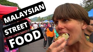 DELICIOUS Malaysian STREET FOOD - Kuah NIGHT MARKET - Langkawi - MALAYSIA