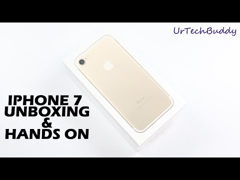 Iphone 7 Unboxing & Hands On Review
