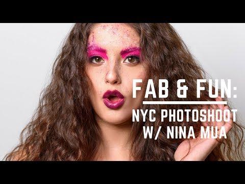 Fab & Fun: NYC Photoshoot w/ Nina Mua
