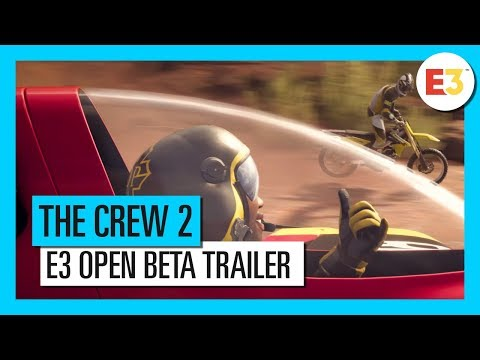 The Crew 2: E3 2018 Start Your Story – Open Beta Trailer | Ubisoft