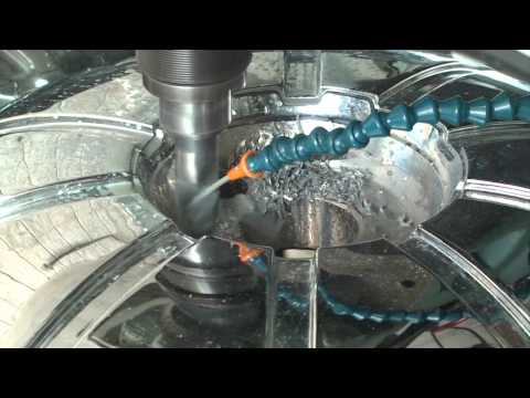 WHEEL REPAIR: FILL N DRILL (BOLT PATTERN CONVERT)