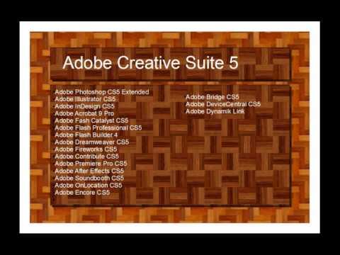 Adobe®  Creative Suite® 5 Master Collection: Kurzüberblick!