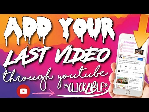 HOW TO ADD YOUR LAST VIDEO THROUGH YOUTUBE ON IPHONE