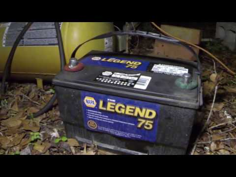 How to change battery Ford F150