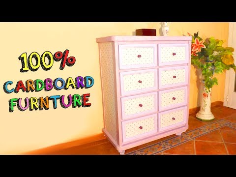 DIY CRAFTS AMAZING FURNITURE WITH CARDBOARD BOXES RECYCLED