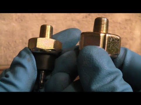 Honda Accord Oil Pressure Switch Replacement