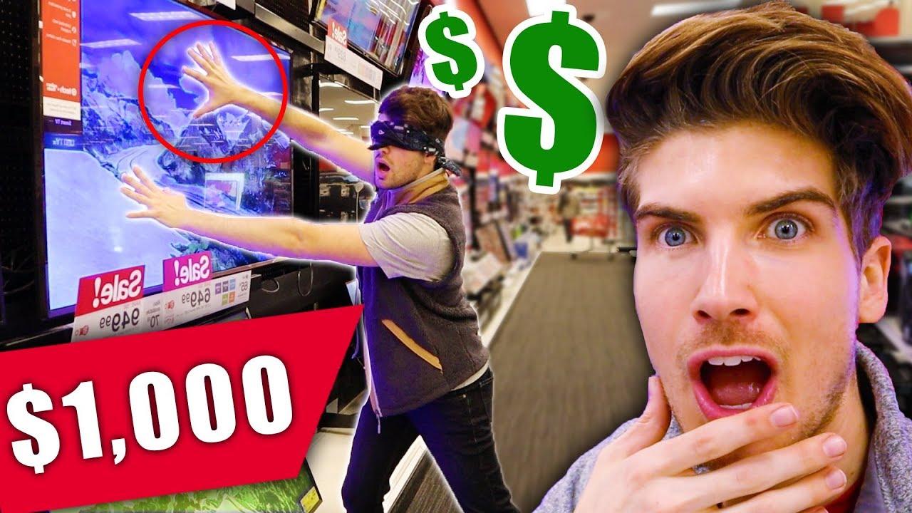 Buying Everything my Boyfriend Touches Challenge!