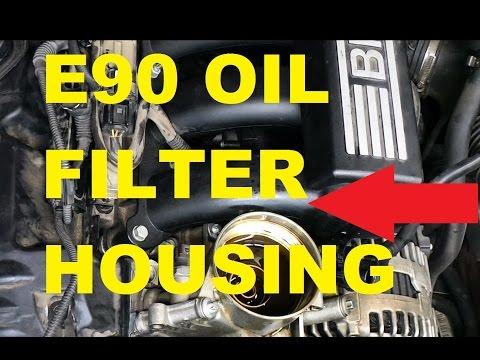 E60/ E90/ E92 OIL FILTER HOUSING GASKET DIY (none turbo)
