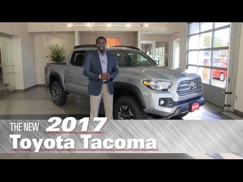 The New 2017 Toyota Tacoma TRD Off-Road - Minneapolis, St Paul, Brooklyn Center, MN - Review