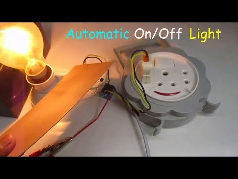 Automatic Light On Off circuit using LDR and Relay | DIY Project