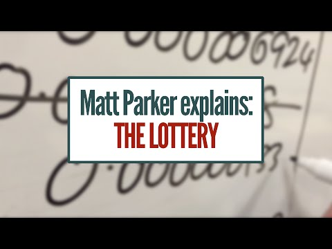 Matt Explains: The Lottery [featuring: Choose Function, Infinite Geometric Series]