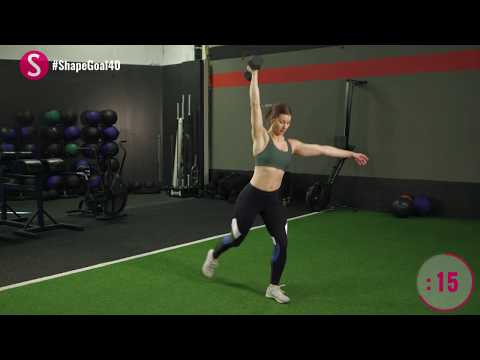 The 10-Minute Dumbbell Workout | #CrushYourGoals with Jen Widerstrom | SHAPE