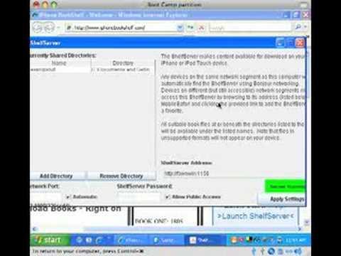 ShelfServer with Windows XP Firewall