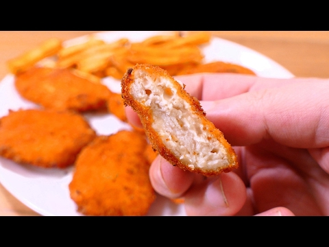 TASTY CHICKEN CHEESE NUGGETS | Easy food recipes for dinner to make at home