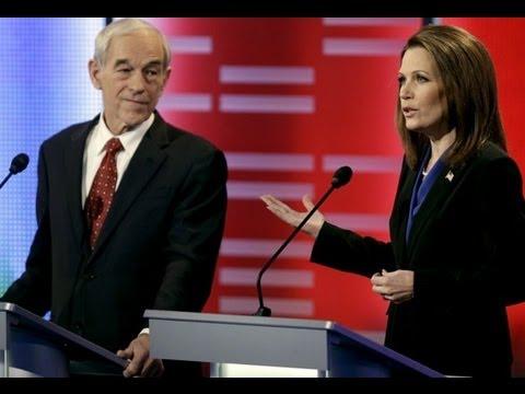 Ron Paul Steals Bachmann's Iowa Campaign Chair