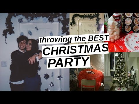 How To Throw The Best Christmas Party Ever!!