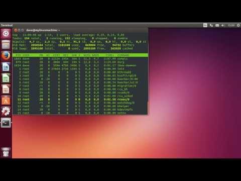 Linux Sysadmin Basics -- 6.1 Process Signals