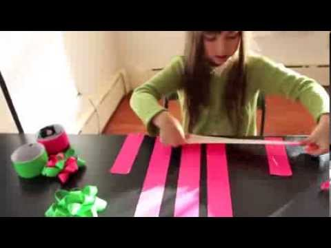 Duck Tape Gift Ribbon Tutorial
