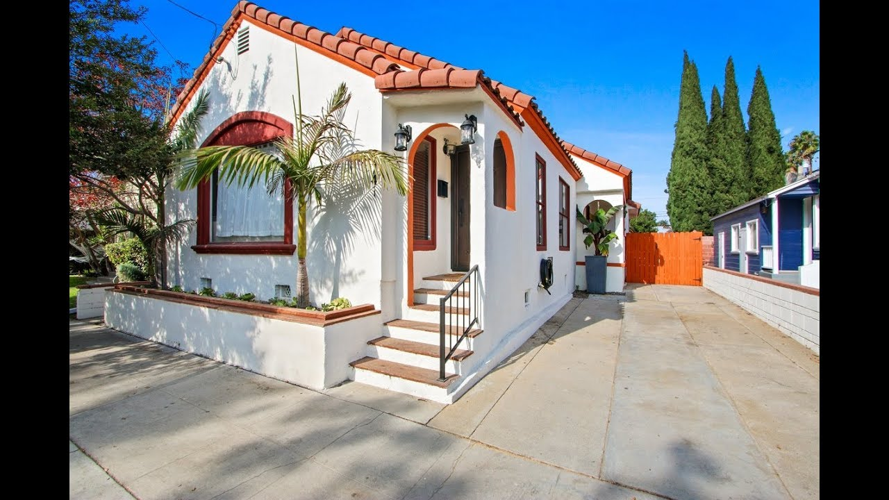 Spanish Style Bungalow - 1741 E Erie Street, Long Beach CA 90802