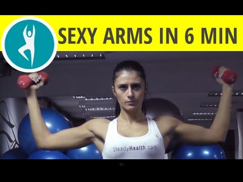 Six Minutes a Day: Six Effective Exercises for Strong & Sculpted Arms
