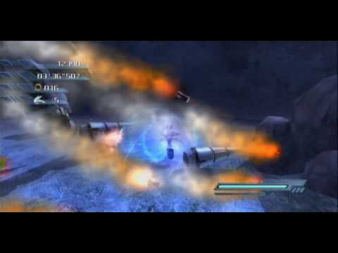Xbox360 - Sonic the Hedgehog 2006: Silver Act 4 White Acropolis