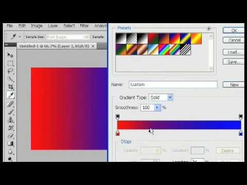 Photoshop Tricks : Blending Colors in Photoshop