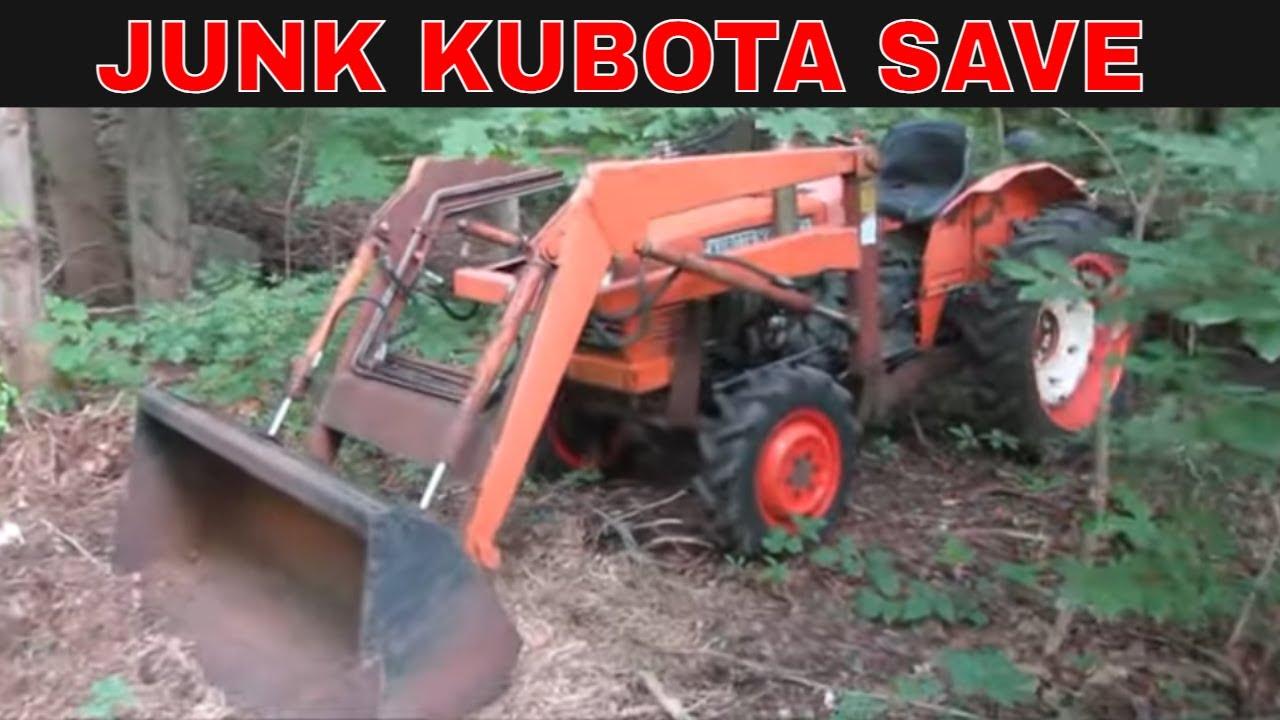 Abandoned Kubota is Missing Parts. lets make them.