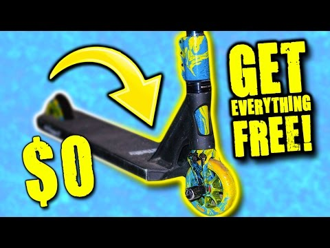 HOW TO GET SPONSORED TOP 5 LIFE HACKS (PRO SCOOTER)