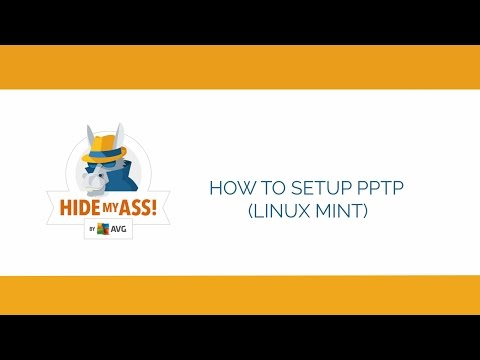 How to setup PPTP connection on Linux Mint | Hide My Ass!