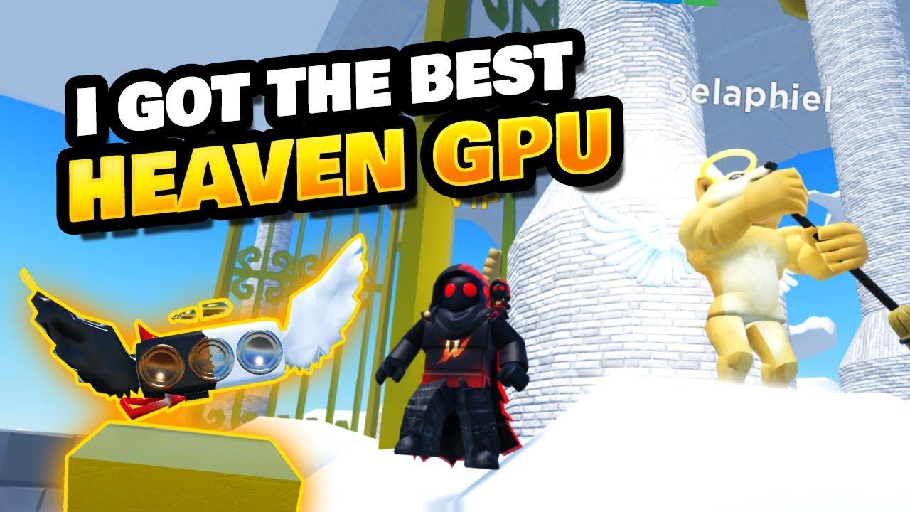 Got Best Heaven GPU in Dogecoin Mining Tycoon