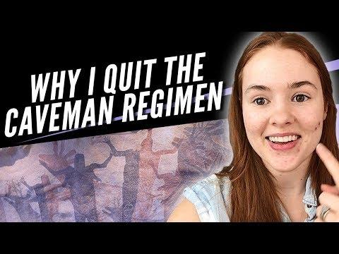 Why I Quit the Caveman Regimen (UPDATE)