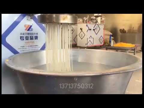 Hot selling stainless steel automatic corn noodle making machine rice noodles maker