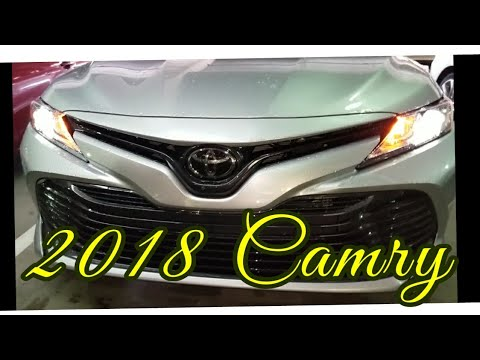 2018 Toyota Camry LE Start-Up