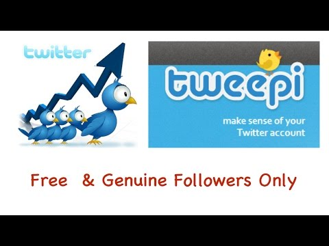 How To Get Genuine Twitter Followers Free & Fast. No Fake Followers or Stupid Surveys.Full HD 1080p