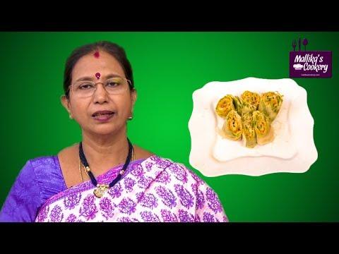 DOSA ROLL WITH CHEESE : Mallika Badrinath | Dosa Variety
