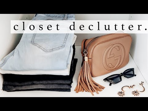 Decluttering My Wardrobe Pt 1 | Mid-Year Motivation