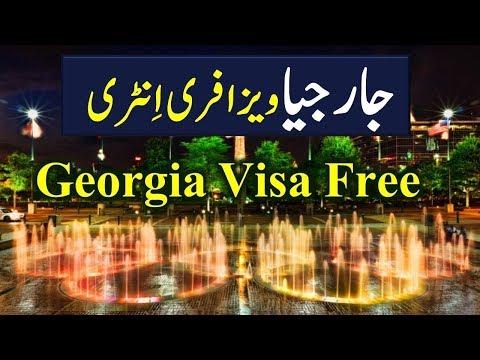 Georgia visa free for Pakistanis.