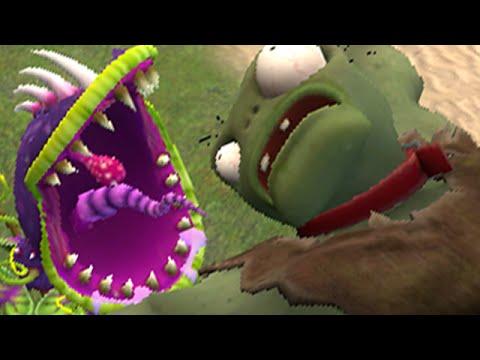 Plants vs. Zombies Garden Warfare: Make a scene (Garry's Mod)