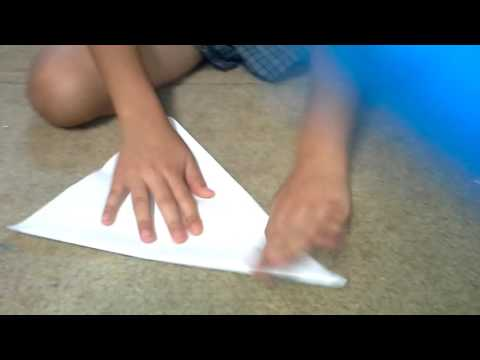 How to make a Delta paper plane