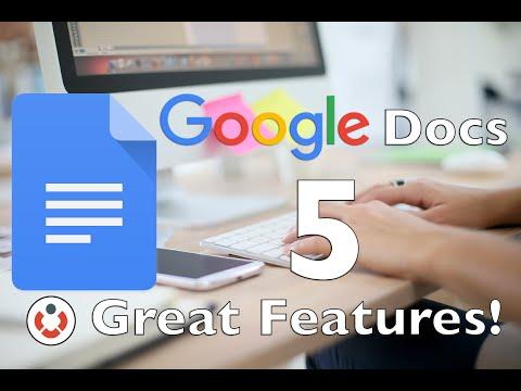 Google Docs - 5 Great Features!