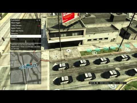 Gta Online How To Make Busted And Demo Derby Custom Game Modes Using