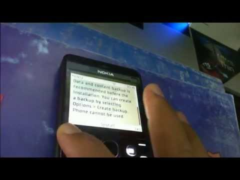 How to update Nokia Asha new software firmware installation