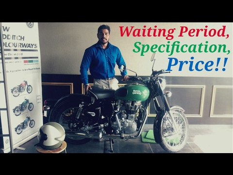 2017 Royal Enfield Classic 350 | Redditch Edition | Specification | Price | Waiting Period.